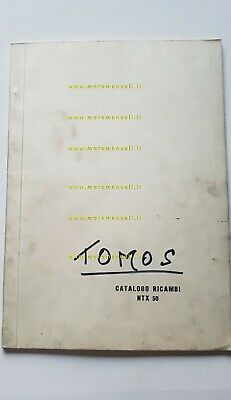 Tomos catalogo ricambi ciclomotore NTX 50 anni 80 originale parts catalogue