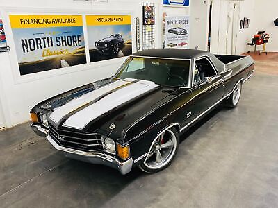 1972 Chevrolet El Camino -SUPER SPORT TRIBUTE - 454 ENGINE - TUXEDO BLACK - Black Chevrolet El Camino with 41,266 Miles available now!