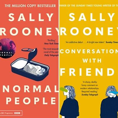 Normal People & Conversations with Friends by Sally Rooney. 2 Book Set *NEW PB's
