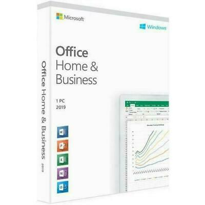 Microsoft Office home and business 2019 activation key for Windows.