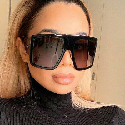 2020 Oversized XXL Square Sunglasses Women Driving Outdoor Shades Shield Glasses