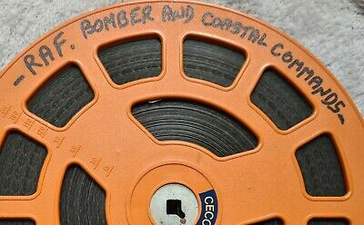 Two Films On 1X1200Ft Reel, Pathe News + Raf Bomber And Coastal Commands 16Mm.