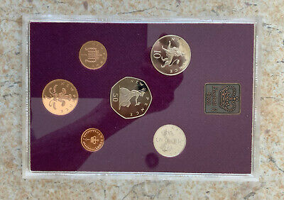 1980 Royal Mint Proof Coin Set (6 Coins)