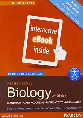 Tosto, Patricia-Pearson Baccalaureate Biology Higher Level 2Nd Edition Ebook NEU