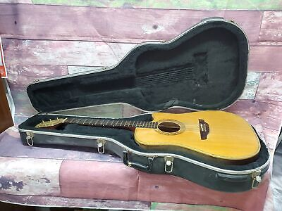 Rare 1990's Takamine NP-18C Dreadnought Acoustic Electric Guitar Japan w Case