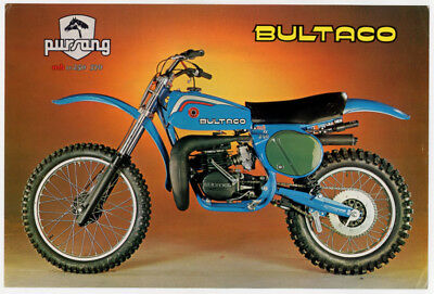Bultaco Pursang 250-370 MK 11 cross depliant originale motorcycle brochure