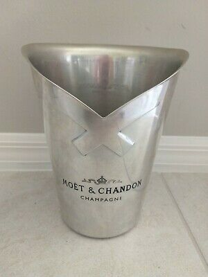 "Moet & Chandon Champagne Ice Bucket 10"" Vintage"