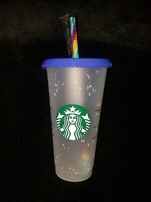 Starbucks Confetti Color Changing Cup 24 oz