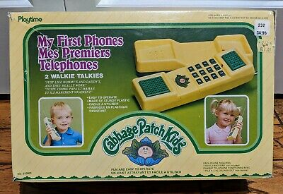 1985 Cabbage Patch Kids My First Phones - Walkie Talkies
