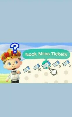 ✨ Animal Crossing New Horizons✨ 300 Nook Miles Tickets. Cheap! Easy!