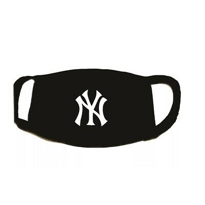 New York Yankees Face Mask Reusable Two Layers Soft 100% Cotton Washable