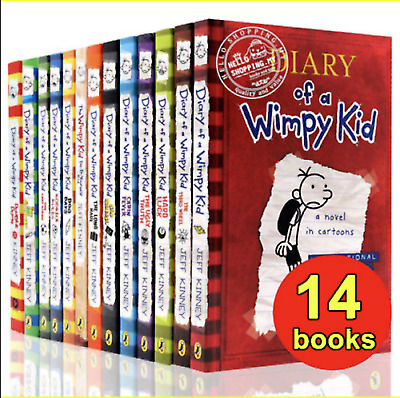 Diary Of A Wimpy Kid Collection (14 Books) Set By Jeff Kinney (P.D.F)
