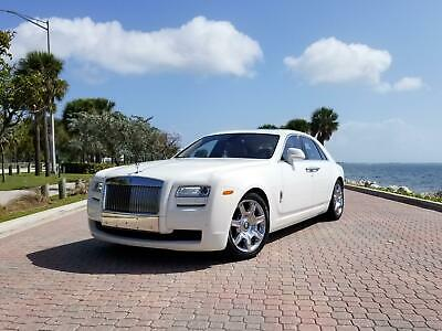 2012 Rolls-Royce Ghost - Clean Carfax - Recent Service - 18k Miles Rear Picnic Tables - Clean Carfax - Recent Service - 18k Miles - 300k+ MSRP
