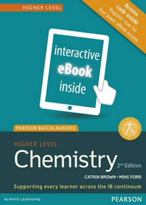 Brown, Catrin-Pearson Baccalaureate Chemistry Higher Level 2Nd Edition Ebook NEU