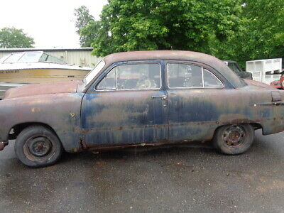 1951 Ford Deluxe  1951 FORD FLATHEAD V8 SHOEBOX   PROJECT OR PARTS