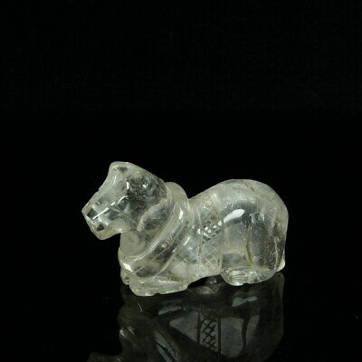 Chinese Exquisite Handmade crystal statue