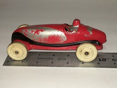 Vintage Auburn Rubber Race Car