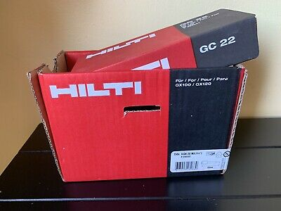 HILTI NAILS GX120 20mm. 750Nails And Gas GC 22