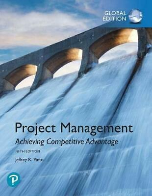 Project Management 5E By Jeffrey K. Pinto ( ISBN:9781292269146 ) 3-5 days