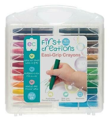 First Creations - Easi-Grip Crayons (set of 24)