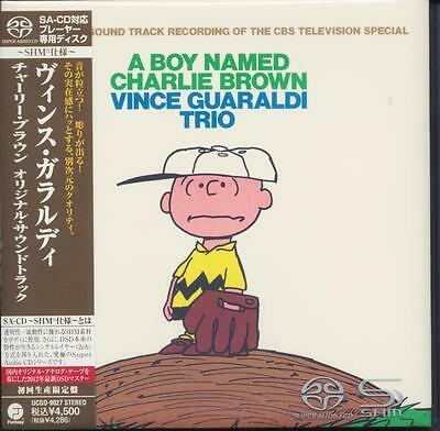 SHM SACD Vince Guaraldi - A Boy Named Charlie Brown Japan OOP NEU MINT