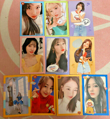 Twice What Is Love? Album Photocards *Read Description*