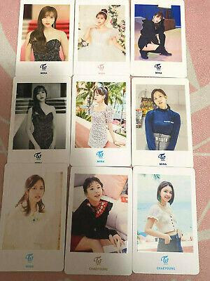 Twice Japan Event Mina Chaeyoung Photocards *Read Description*