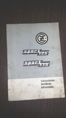CZ 125 175 Sport catalogo ricambi originale moto spare parts catalogue