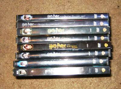 Harry Potter Lot of 13 DVDs on 8 Titles Complete Set Of Movies 2 Sealed