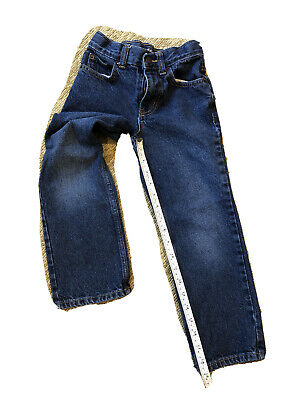 Cat And Jack Boys Size 6 Adjustable Waist Relaxed Straight Leg Jeans