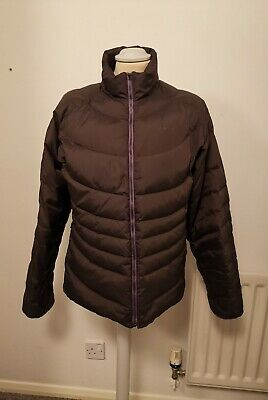 Timberland puffa jacket Large Girls - chocolate brown with lilac lining