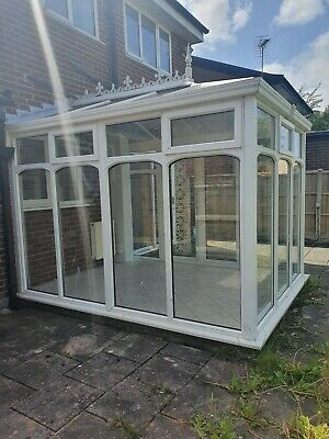 Used White UPVC Conservatory. Buyer to Dismantle. Collect in person only.