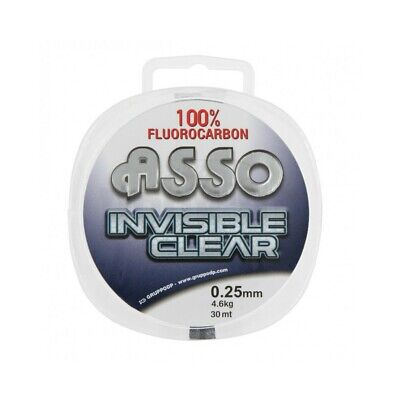 Asso Fluorocarbone Invisible Clear 100M