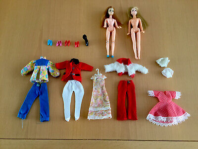 vintage 1970s Palitoy Pippa and Dawn Dolls