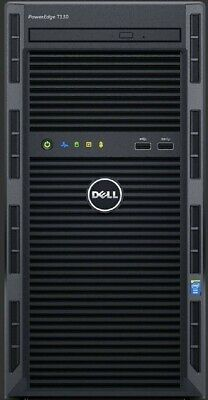 "Dell poweredge t130 server and 22"" Hewlett Packard monitor"