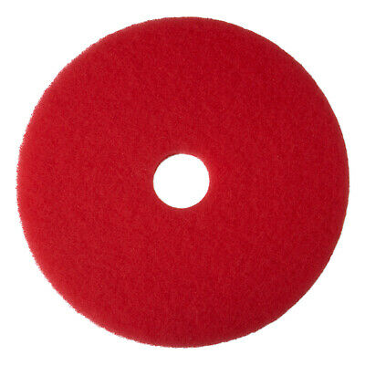 3M 5100 Red Buffer Floor pads ,16 inch, 5/Case