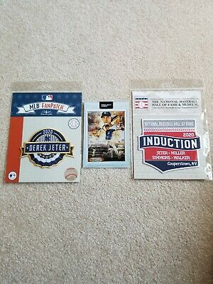 Derek Jeter Topps Project 2020 Andrew Thiele (Confirmed Order /2 Hof Patches)!