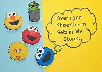 Shoe Charms Sesame Shoe Buttons Plugs Decoration Cake Toppers  auction
