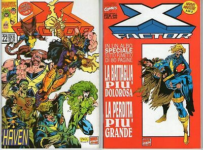 X-FACTOR - HAVEN 1/2 COMPLETA - Marvel Miniserie 22/23