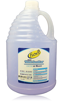 Hand Sanitizer 1 Gallon Gel Alcohol 70% for Antibacterial Disinfectant New