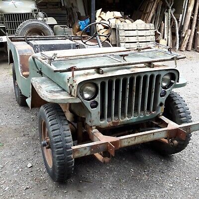 willys jeep 1942 Ford Script Jeep military vehicle classic car barn find
