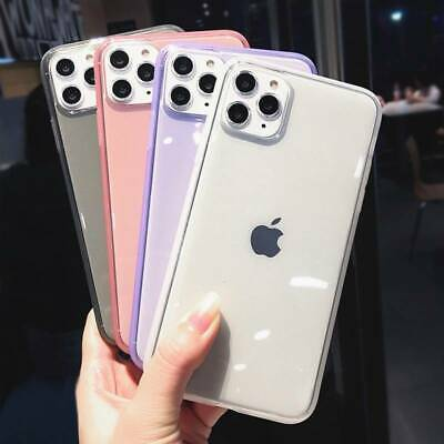 Shockproof Transparent Silicone Case Cover For iPhone 11 Pro XS Max XR X 8 Plus