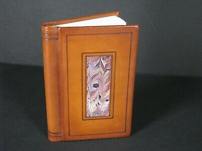 Small Leather Address Book 4.5 Inches By 3 Inches