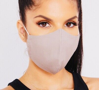 Face Mask Protective Covering Washable Reusable Lightweight Breathable