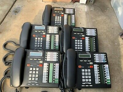 Nortel T7316E phone X 5