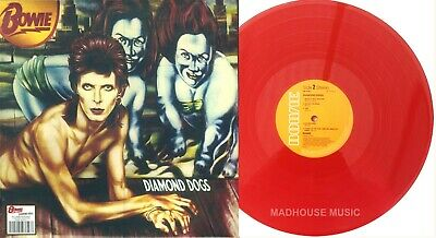 DAVID BOWIE LP Diamond Dogs RED Vinyl 45 Anniversary LIMITED Edition SEALED