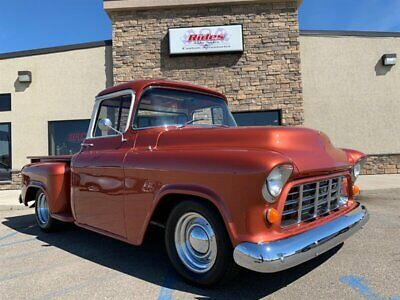 1955 Pickup Big Window 1955 GMC Pickup Big Window 327 heidts NICE Coilovers CUSTOM big window