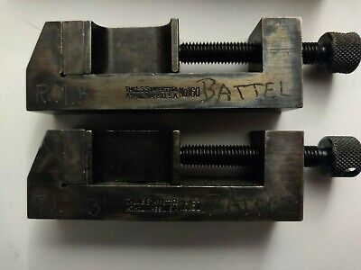 Starrett no.160 2 Inch Clamp Set Made In USA With Box
