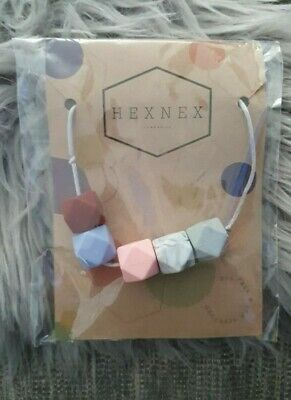 Baby Silicone Teething Breast Feeding Necklace Hexnex