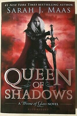 Queen of Shadows - (Throne of Glass) by Sarah J Maas (Paperback) 📖🆕